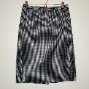 Merona textured square pattern pencil skirt (d)